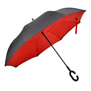 SSBY Creativa permanente libre double reverse PARAGUAS paraguas de negocios al hombre mucho PARAGUAS paraguas anti