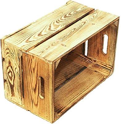 4 pcs peras cajas 2-tabla flambeado/blanco/madera/caja madera caja de fruta de manzana de madera 49 x 30 x 28 cmxxx xxx ca: Amazon.es: Juguetes y juegos