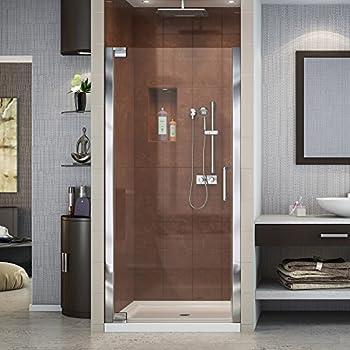 Dreamline elegance 34 36 in width frameless pivot shower door 38 dreamline elegance 34 36 in width frameless pivot shower door 3 planetlyrics Gallery