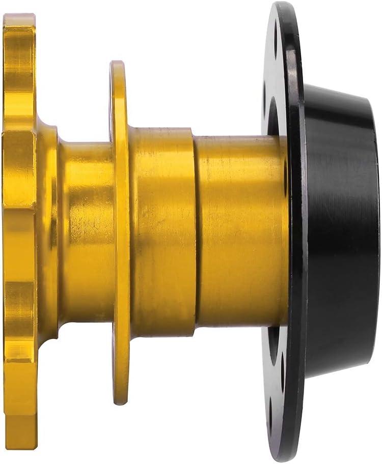Golden Universal Car Lenkradnabenadapter Schnellspanner Racing Adapter Snap Off Kit Lenkrad Nabenadapter