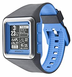 Metawatch Strata Olypian Blue App Based Smart Watch For Iphone 4s & Above Android 2.3 & Above