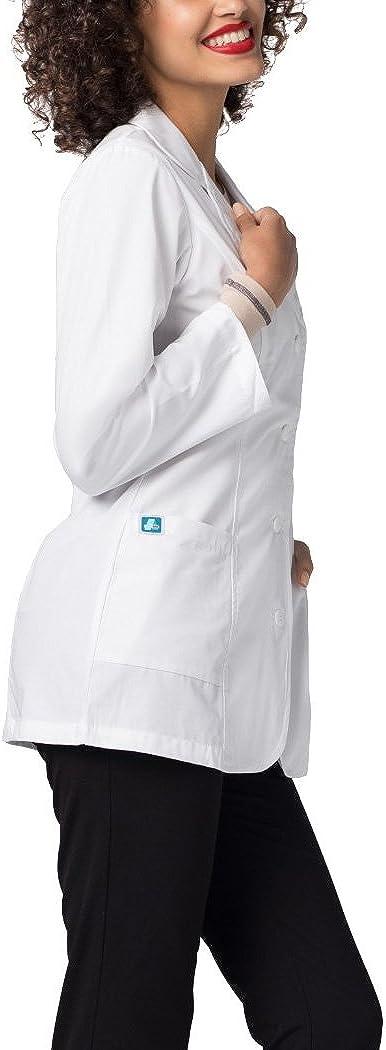 "Adar Universal Lab Coats for Women - Princess Cut 30"" Consultation Lab Coat: Clothing"