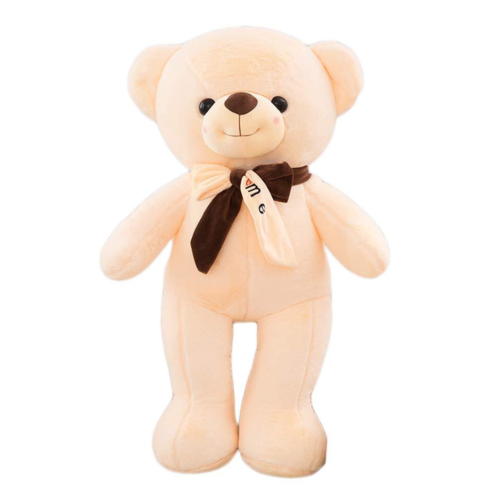 suministramos lo mejor blanco 130CM HYANF OverTallad OverTallad OverTallad Cute Teddy Bear Felpa Almohada de Juguete, Cojín de Peluche de Peluche de Animal de Peluche Suave, Niño Adulto Cumpleaños Navidad Regalos de San Valentín  marcas de diseñadores baratos