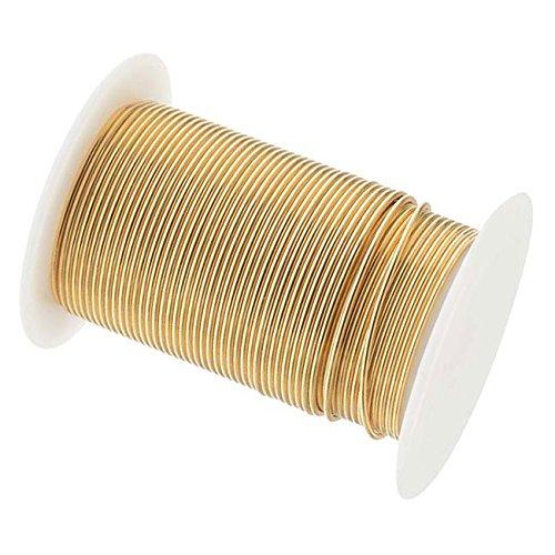 18 Gauge The Bead SmithTM Tarnish Resistant Craft Wire - Gold 10 (Gauge Bead)