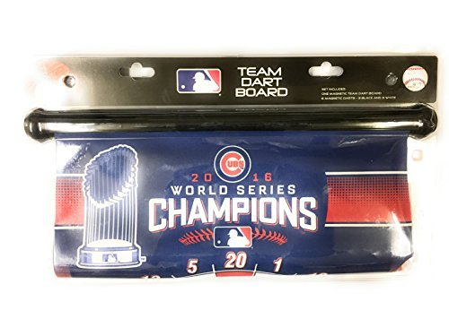 - Rico Chicago Cubs 2016 World Series Champions Magnetic Dart Board