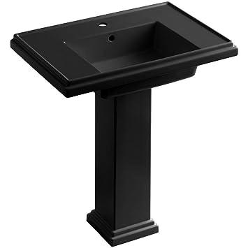 Kohler K 2845 1 7 Tresham 30 Inch Pedestal Bathroom Sink With Single