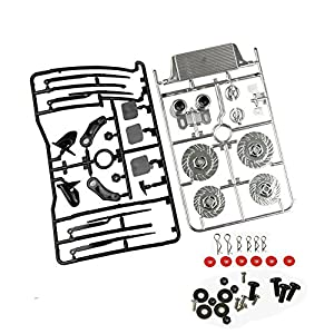 Coolplay 1/10 Body Accessory Vehicle Spare Parts Set for RC Road Car---Silver