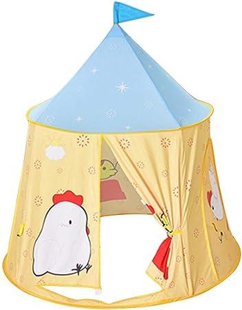 Occitop - Tienda de campaña para niños con diseño de gallina de Dibujos Animados: Amazon.es: Hogar