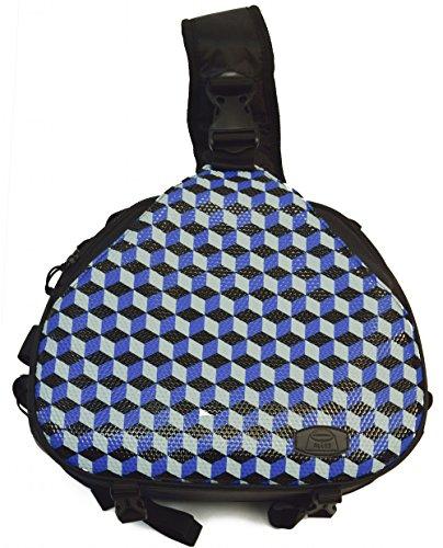 Camera bag cross sling bag triangle carry case for dslr Sony,Canon Rebel Powershot, Nikon Coolpix,Kodak,Olympus,Pentax by Alles