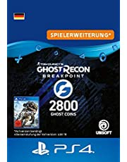 Ghost Recon Breakpoint - 2400 (+400) Ghost Coins 2800 Coins   PS4 Download Code - deutsches Konto