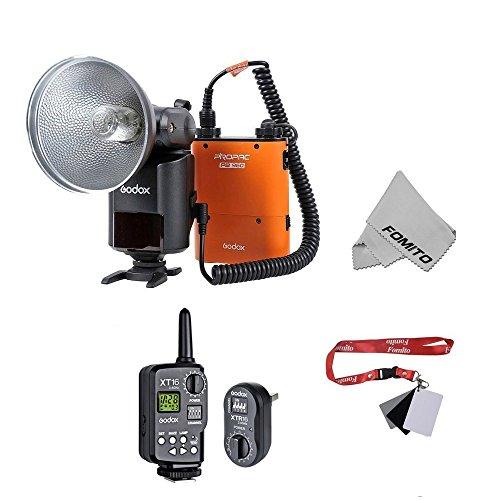 Fomito AD360II-C Powerful & Portable Flash 大光量ポータブルフラッシュ +FT-16トリガー Canon カメラ対応 オレンジ