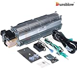 Durablow MFB009-A BLOT Replacement Fireplace Blower Fan Kit for Monessen Hearth System, Kingsman, Martin, Majestic, Hunter, Large