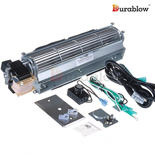 Durablow MFB009-A BLOT Replacement Fireplace Blower Fan Kit for Monessen Hearth System, Kingsman, Martin, Majestic, Hunter, Large by Durablow