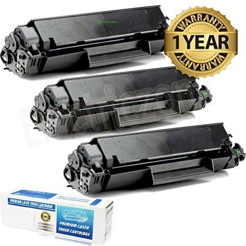 - Ledona 3Pack Ce278A 78A Black Toner Cartridge For Hp Laserjet Pro P1560 P1566 P1606Dn