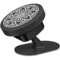 Phone Holder for Car, VAVA Magnetic Car Phone Mount - 360° Adjustable Holder with Two Magnetic Pads and 3M Adhesive Covering