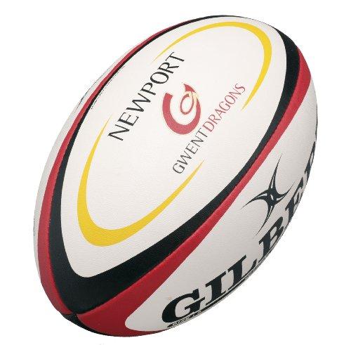 GILBERT Newport Gwent Dragons Replica Midi Rugby Ball , Midi