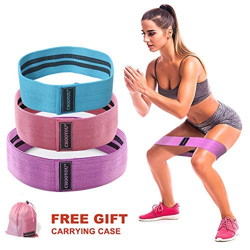 HOMOFY Resistance Bands Exercise Bands Hip Booty Bands