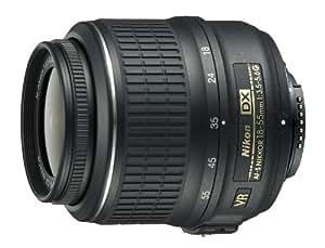 Nikon AF-S DX NIKKOR 18-55mm f/3.5-5.6G Vibration Reduction Zoom Lens with Auto Focus for Nikon DSLR Cameras