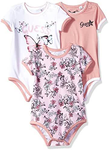 GUESS Baby Girls' 3 Piece Set Bodysuit