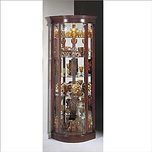 Philip Reinisch Lighthouse Auberge II Curio Cabinet