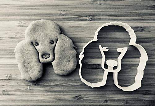 Layla the Poodle Cookie Cutter and Dog Treat Cutter - Dog Face