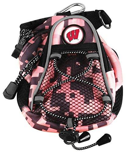 LinksWalker NCAA Wisconsin Badgers - Mini Day Pack - Pink Digi - Digi Camo Ncaa