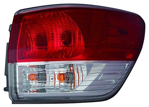 Depo 315-1980R-AF Tail Lamp Assembly (Nissan Pathfinder 13-15 Passenger Side Nsf)
