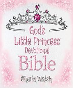 Hardcover God's Little Princess Devotional Bible Book
