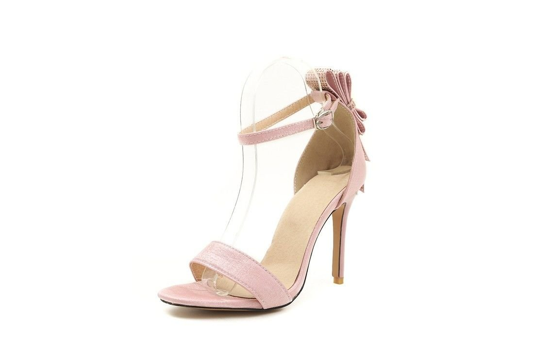 AIKAKA Chaussures Femmes pour Haut B01MG43JP9 Femmes Printemps Été Haut Talon Arc Strass Grandes Sandales Pink 7cf3c1c - robotanarchy.space