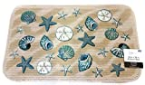 Mainstays Coastal Starfish Seashell Kitchen rug door mat