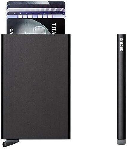 Secrid Miniwallet Diamond Kreditkartenetui Black