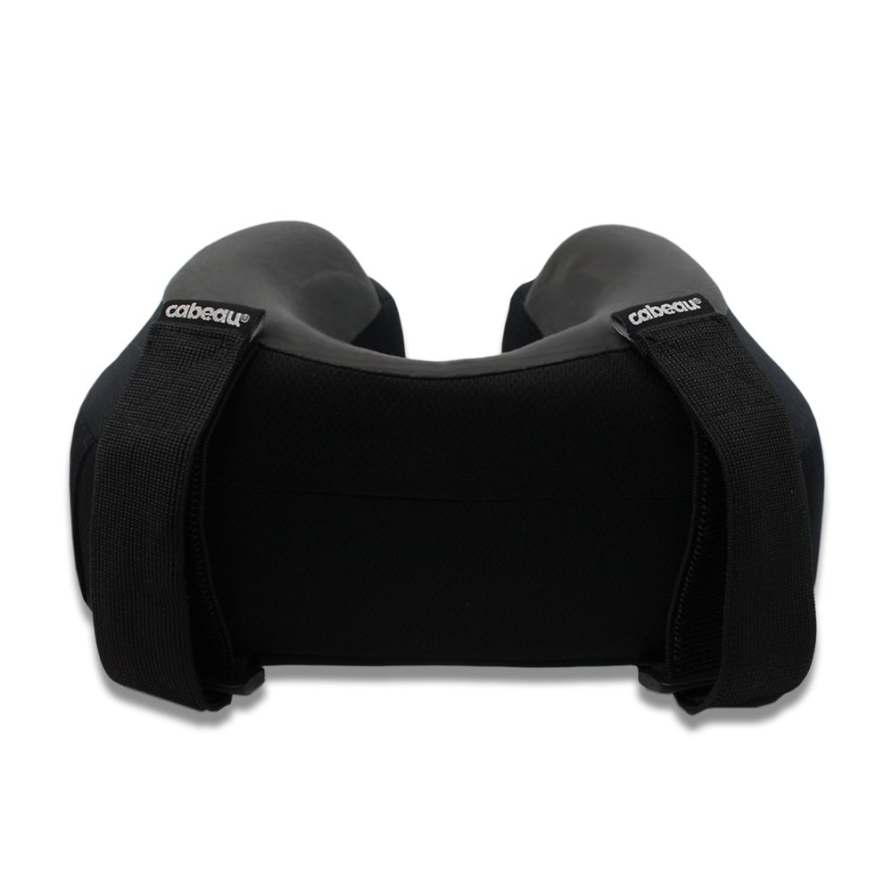 Cabeau Evolution S3 Travel Pillow Quick Dry Fabric Straps To Airplane Seat Ensures Your Head Won T Fall Forward Relax With Plush Memory Foam Secure Head And Neck Support