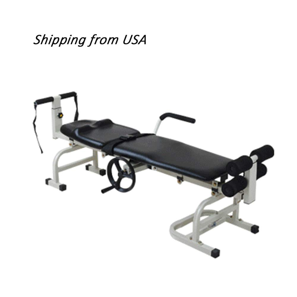 Hot Therapy Massage Bed Table Cervical, Denshine Lumbar Traction Bed Stretching Device for Facial SPA Bed/Therapy/Beauty Salon by Denshine (Image #1)