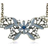 Pendentif style vintage floral avec perles, Lamphun