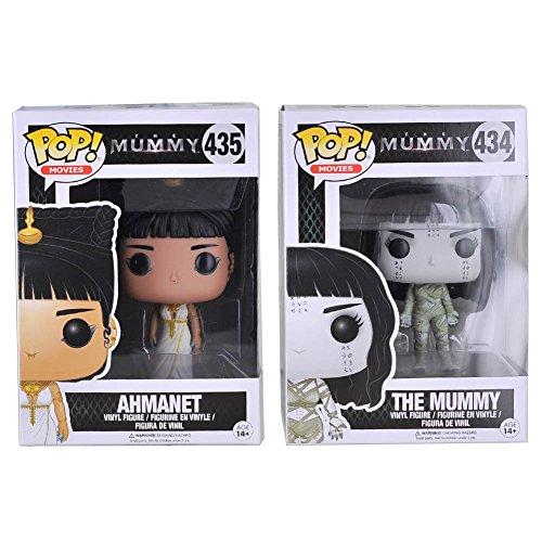 - Funko POP Movies: The Mummy Ahmanet & The Mummy Action Figure Bundle (2 items)