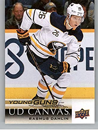 reputable site 1a7b4 5cfdf Amazon.com: 2018-19 Upper Deck Canvas Hockey Series Two ...