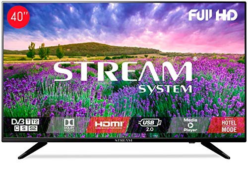 Stream System BM40L81+ – TV LED 40″ Full HD, HDMI, USB, VGA