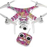 MightySkins Protective Vinyl Skin Decal for DJI Phantom 3 Standard Quadcopter Drone wrap cover sticker skins Magenta Summer