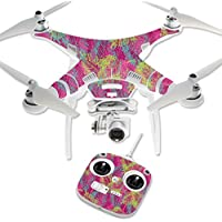 MightySkins Protective Vinyl Skin Decal for DJI Phantom 3 Standard Quadcopter Drone wrap cover sticker skins Magenta Summer