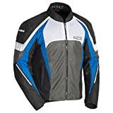 Cortech GX Sport Air 5 Men's Textile Street Motorcycle Jacket - Black/Blue X-Large