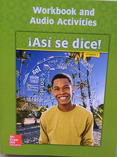 Asi se dice! Level 3, Workbook and Audio Activities