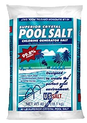 Superior Crystal CA40PS Pool Salt