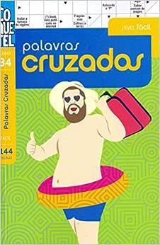 Palavras cruzadas - Nível fácil - Livro 34   Amazon.com.br
