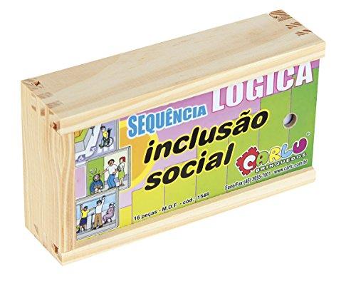 Sequencia Lógica Inclusão Social Carlu Brinquedos