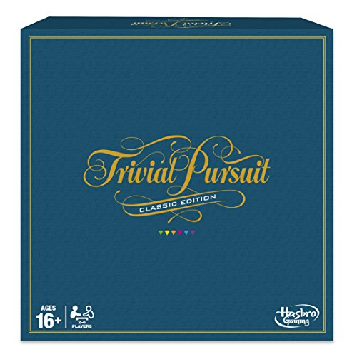 Hasbro Gaming Trivial Pursuit Game: Classic -