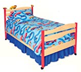 Room Magic Full Comforter/Bed Skirt/Sham Set, Boys Like Trucks