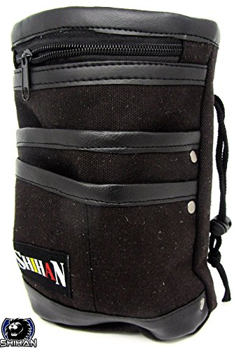 Large Mountaineering Chalk Bag SHIHAN-MESH Portable Chalk / Storage Bag Waist Pack Accessories for Climbing Hiking Sports, Ammo Pouch by Shihan