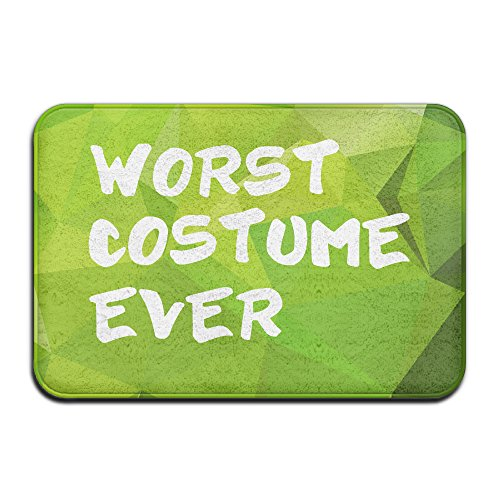 Worst Costume Ever Halloween Costume Door Mats Outdoor (Welcome Mat Halloween Costume)