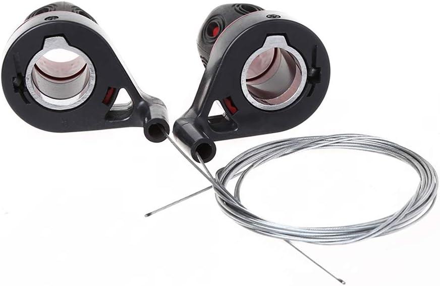 Lergo 1 Paar Umwerfergriffe Fahrrad Hebel Getriebe Drehgriff Geschwindigkeits/änderung MTB Bike kompatibel Radfahren Gangschaltung Reise