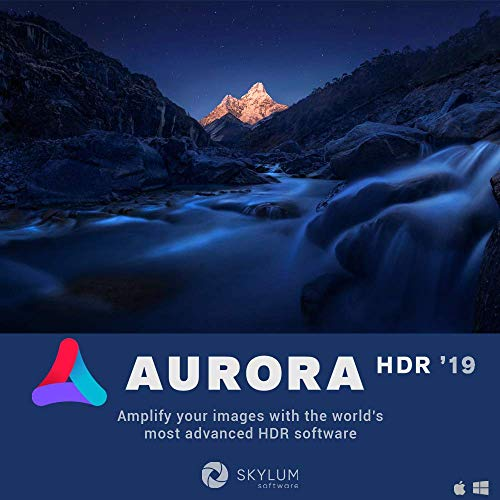 Software : Aurora HDR 2019 - HDR Image Enhancing Program | Amplify Your Images with State-of-the-Art High Dynamic Range Photography Software by Skylum Software | For Mac or PC